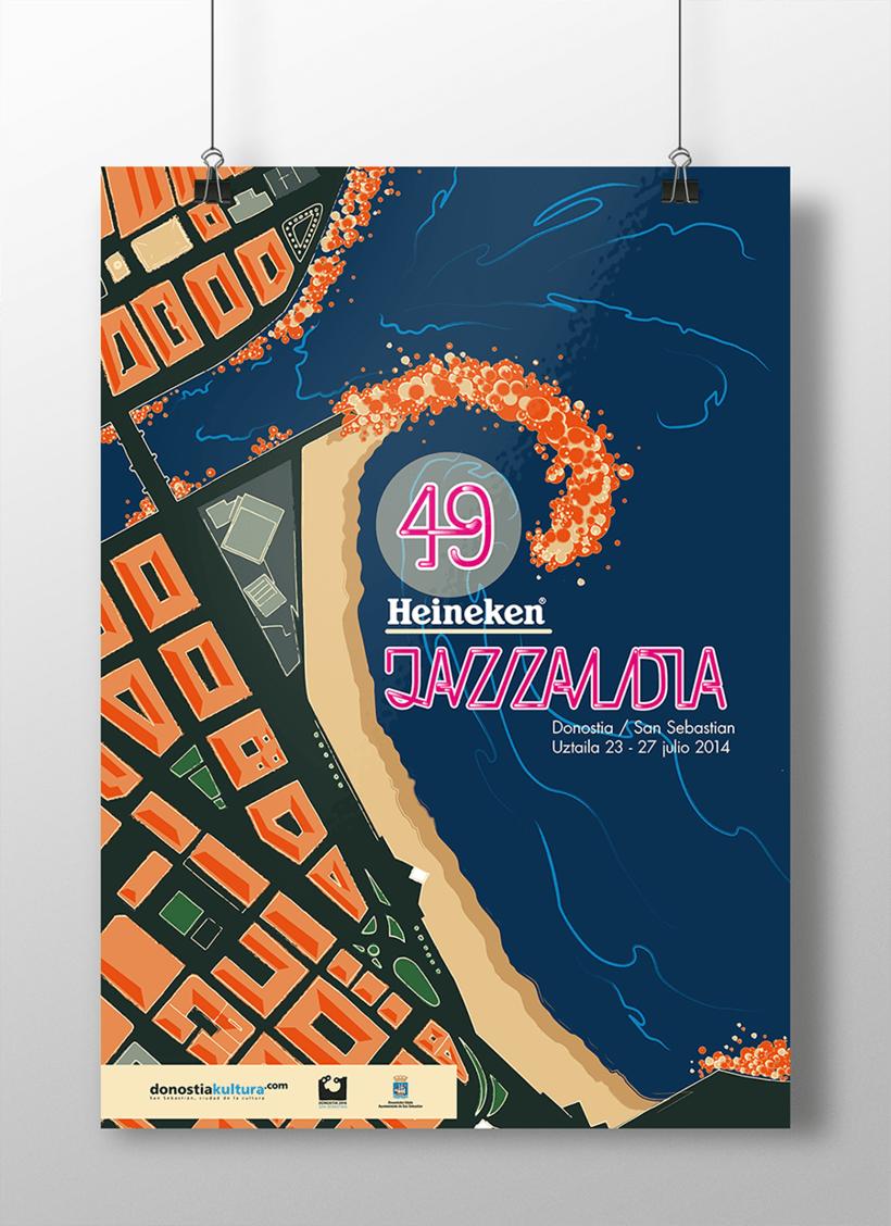 Diseño de Cartel Jazzaldia  0