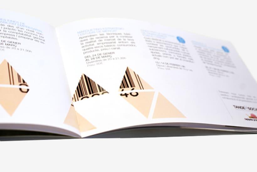 Publishing design |CREC: Centre de recursos per a emprenedors i ciutadans.  Coworking center 1