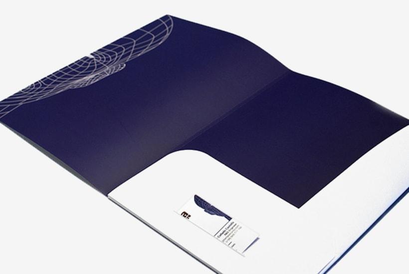 Graphic design | Corporate material. Herta Security 3