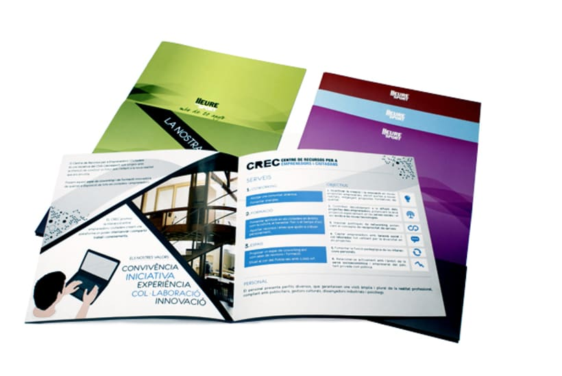 Publishing design | Corporate program. Club Lleuresport 2