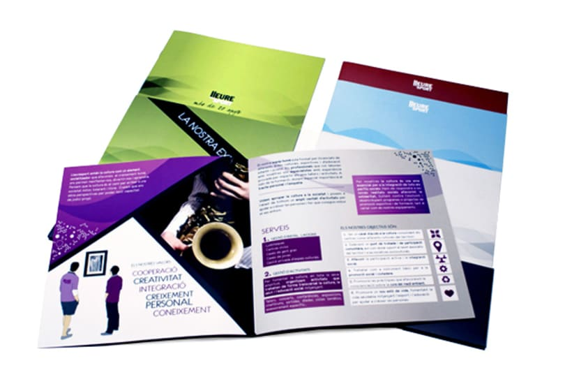 Publishing design | Corporate program. Club Lleuresport 3