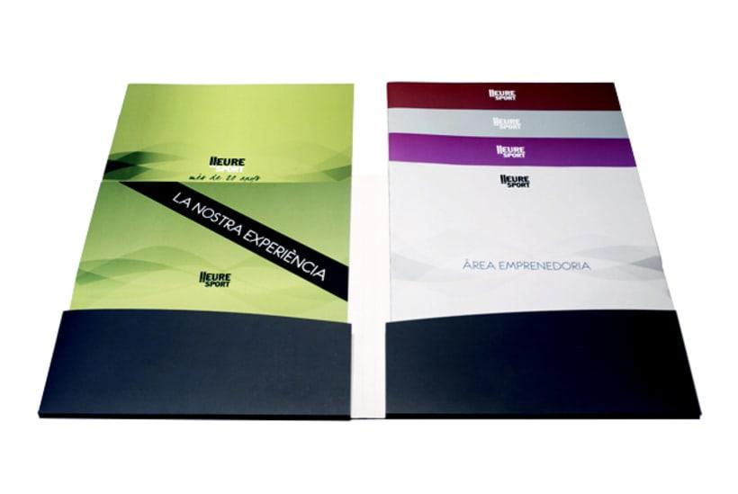 Publishing design | Corporate program. Club Lleuresport 0