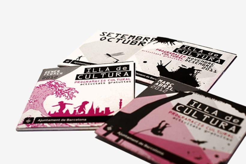 Graphic design | Different cultural activity programs. Centre Civic Urgell, Ajuntament de Barcelona 0