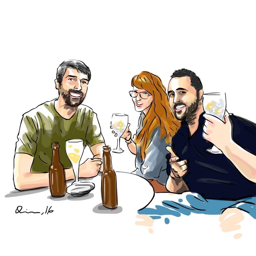 Gente del bar 1