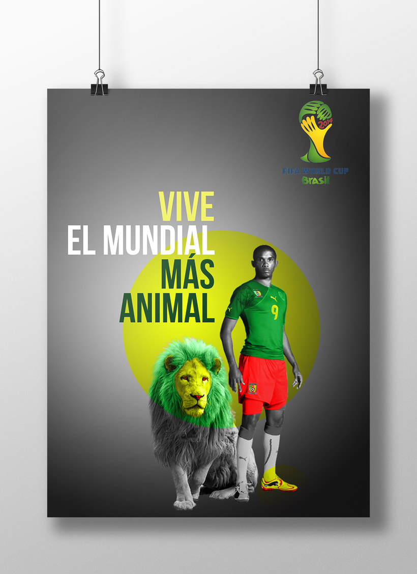Carteles FIFA World Cup Brasil 2014 1