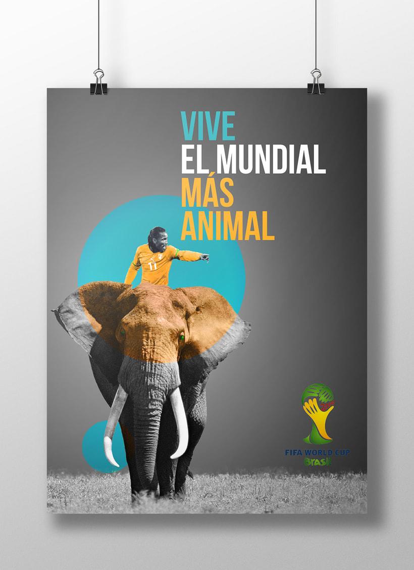 Carteles FIFA World Cup Brasil 2014 2