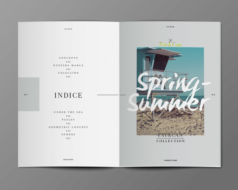 Diseño Bañadores y Catálogo 2