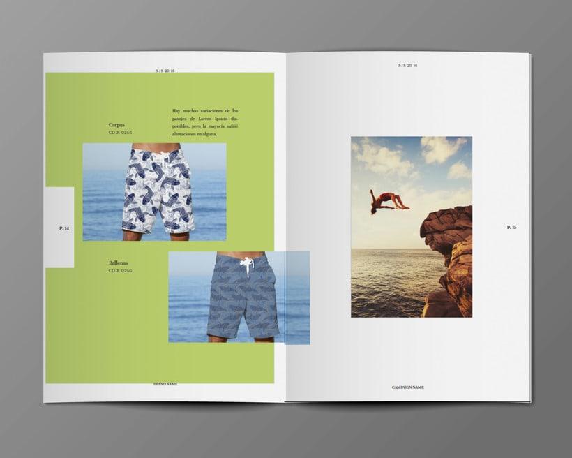 Diseño Bañadores y Catálogo 7