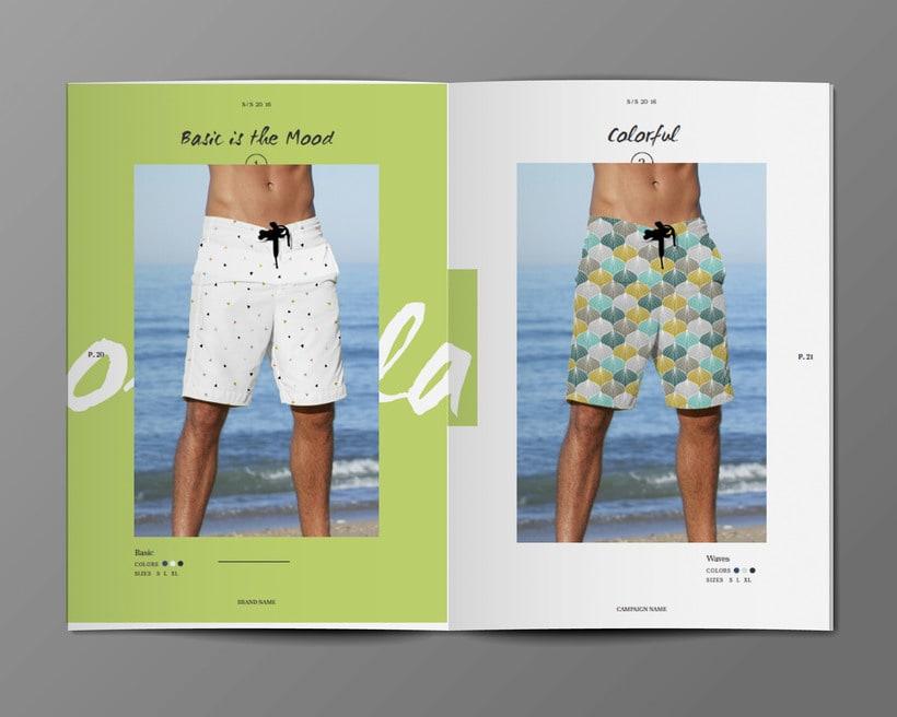 Diseño Bañadores y Catálogo 9