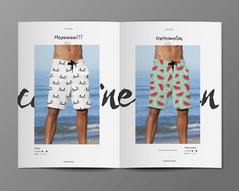 Diseño Bañadores y Catálogo 10