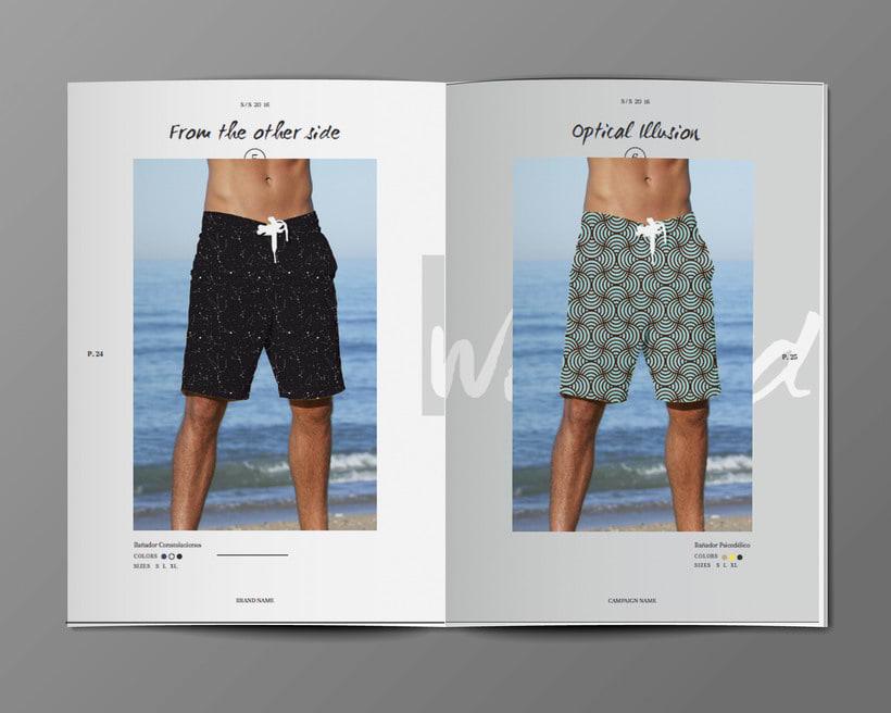 Diseño Bañadores y Catálogo 11