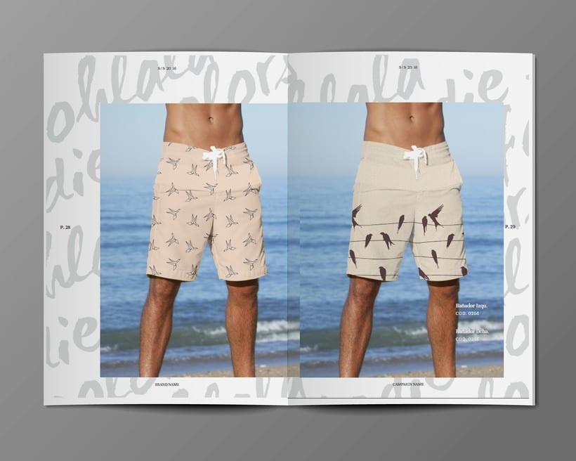 Diseño Bañadores y Catálogo 13
