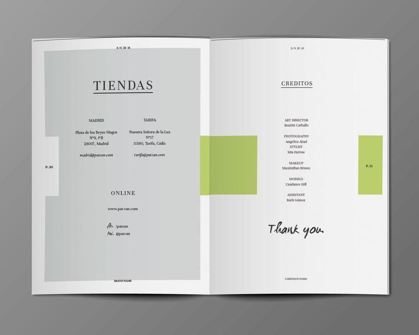 Diseño Bañadores y Catálogo 14
