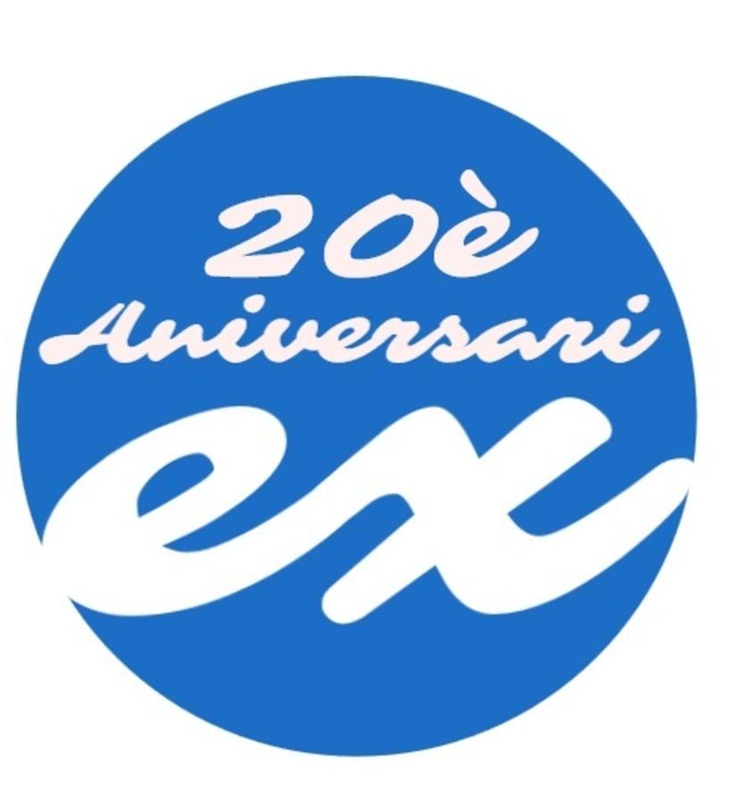 Encargo logotipo para el 20 Aniversario de un centro educativo 0