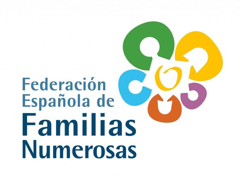 Marca - Federación Española de Familias Numerosas -1