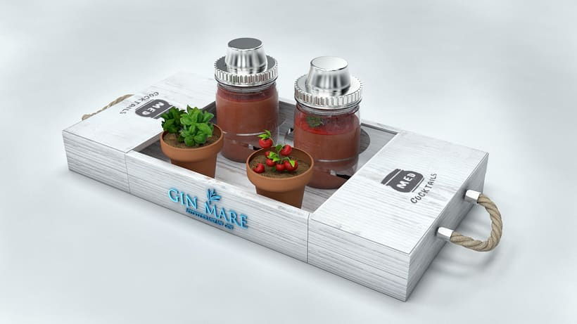 Propuestas para Gin Mare. 2