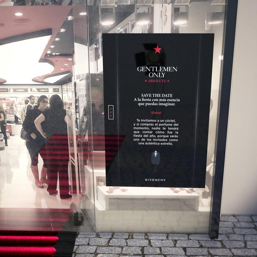Evento Málaga Givenchy y propuestas de muebles para perfumes. 6
