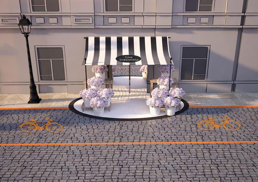 Evento Málaga Givenchy y propuestas de muebles para perfumes. 9