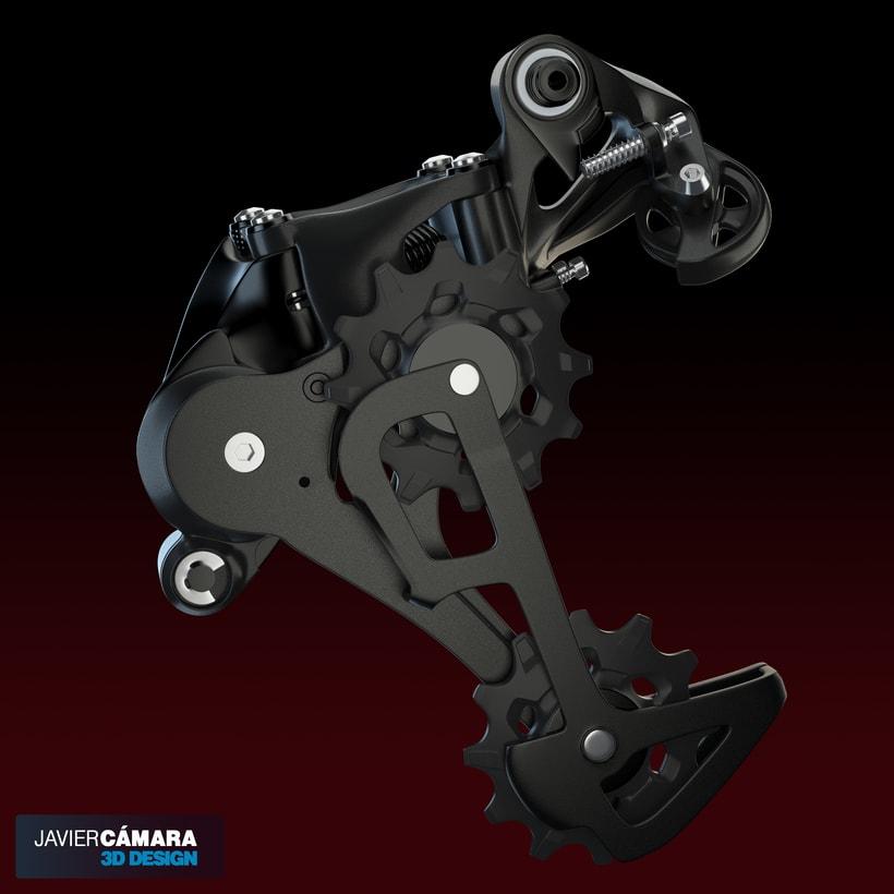 3D - SRAM X01 Rear Derailleur 11-Speed 7