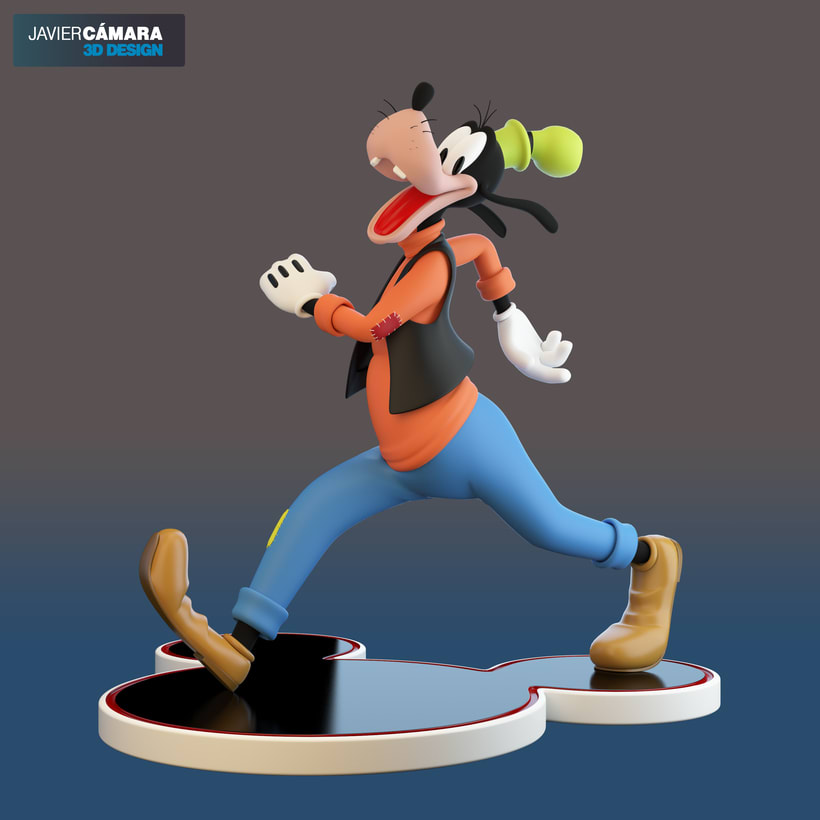 3D character modeling - Goofy  15