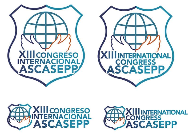 Web y diseños para el XIII Congreso ASCASEPP 1