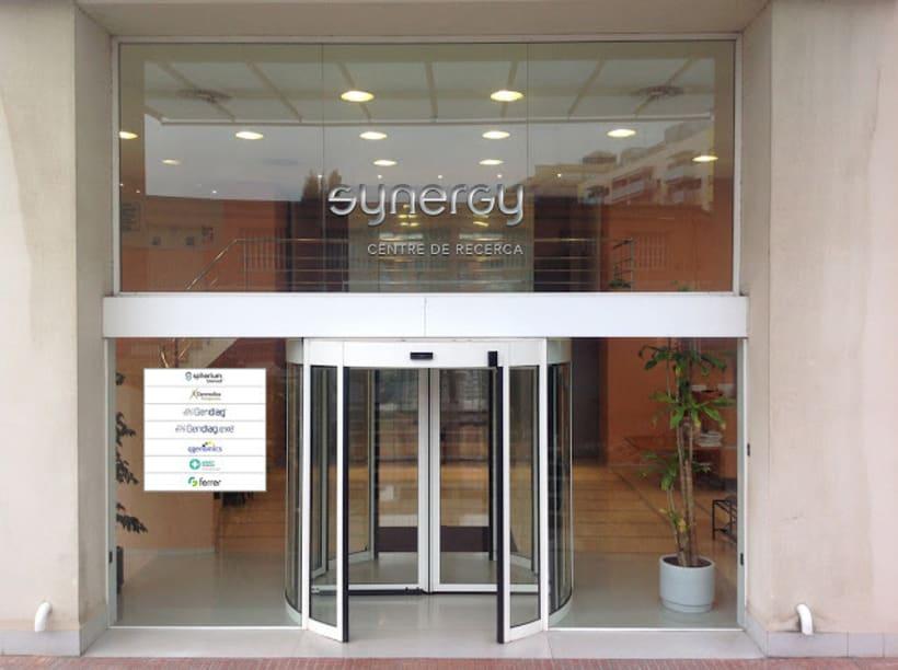 Logotipo Edificio Synergy 2