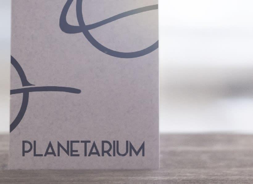 Planetarium - Imagen corporativa 4