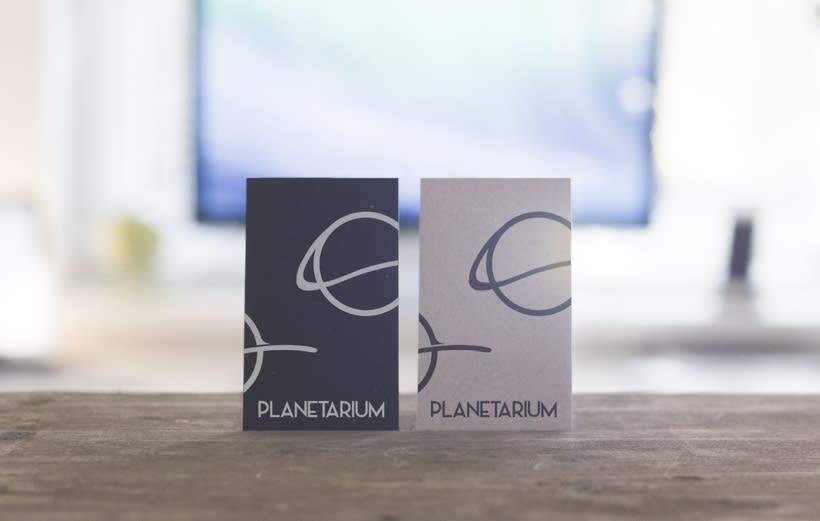Planetarium - Imagen corporativa 3