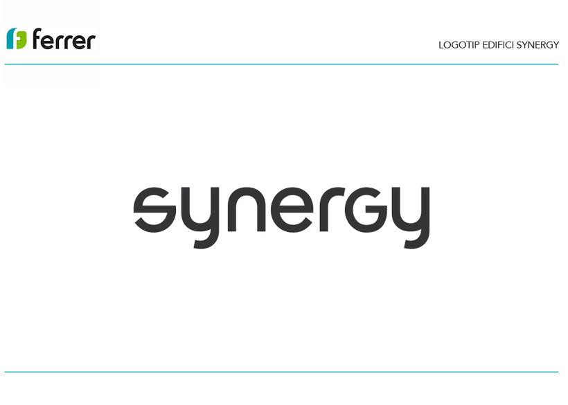 Logotipo Edificio Synergy 1