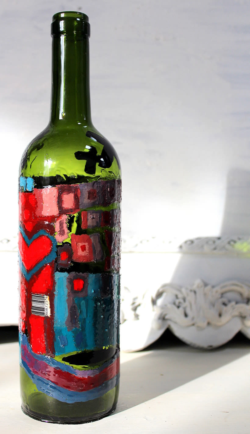 Botellas decoración 6