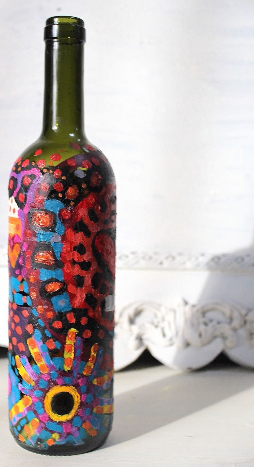 Botellas decoración 15