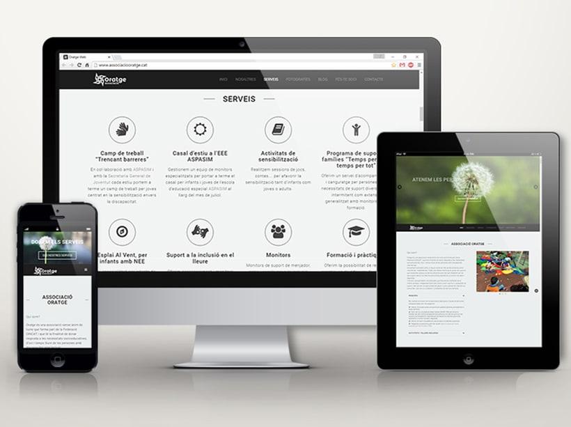 Associació Oratge Web & Image Design 0