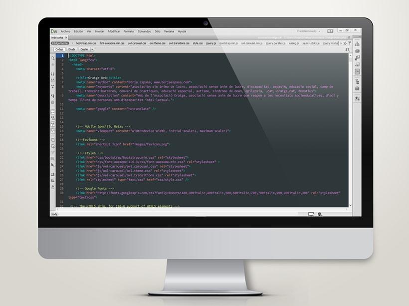 Associació Oratge Web & Image Design 2