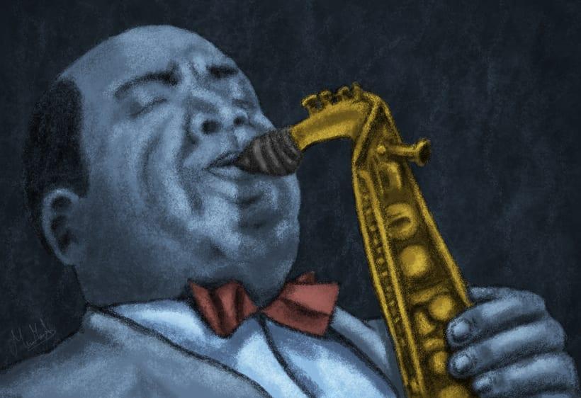 Charlie Parker - Ilustración -1
