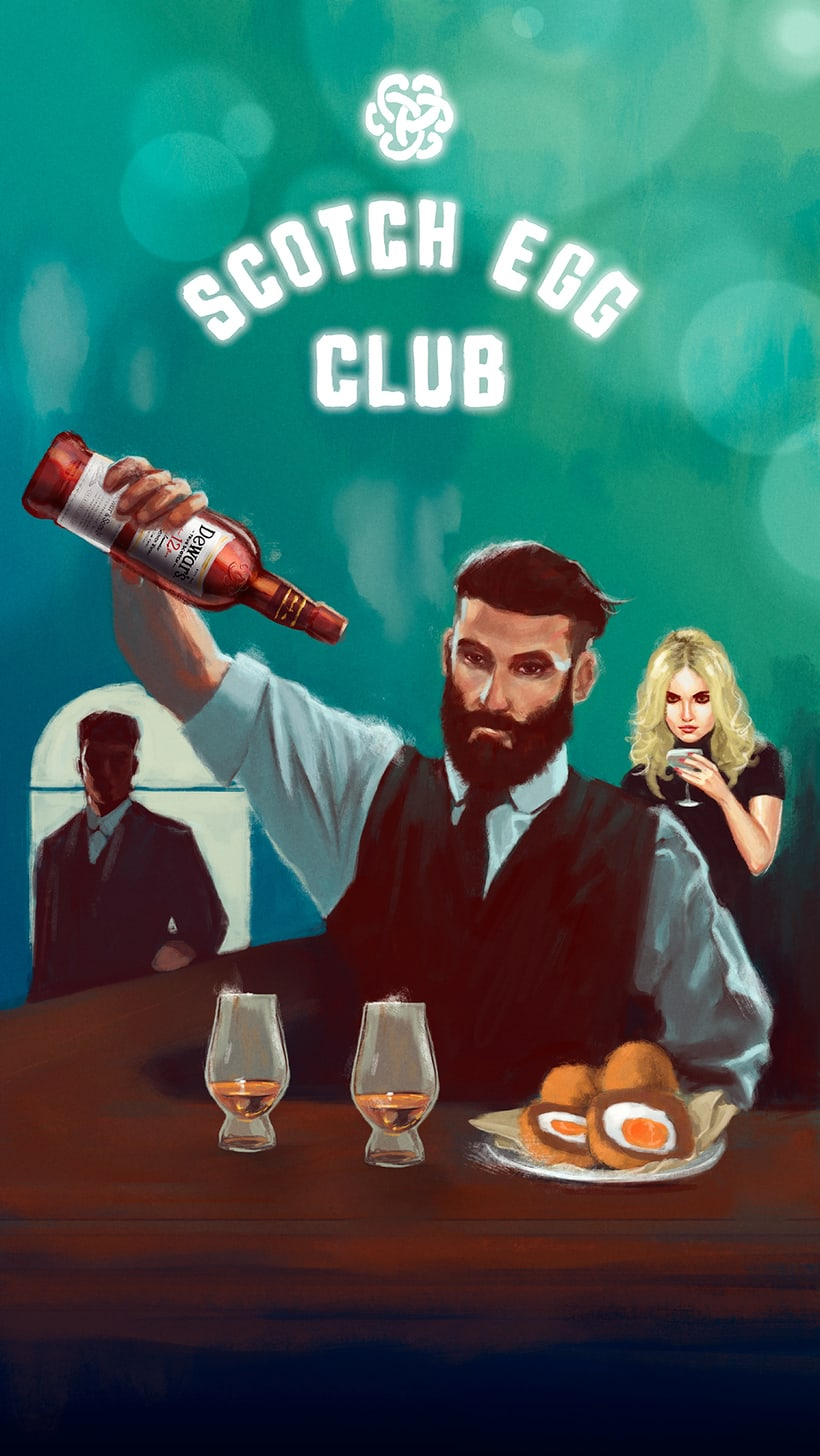 Dewar's Scotch Egg Club 1