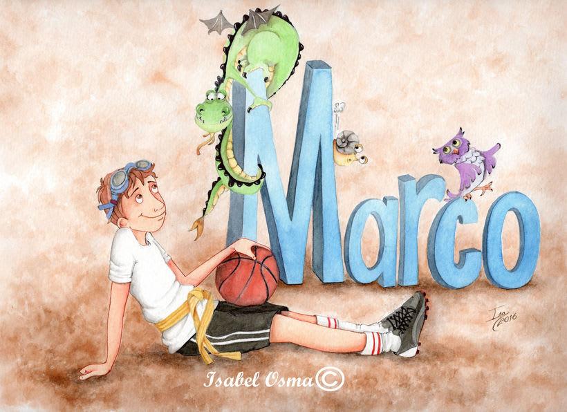 A Marco le gusta el deporte ¿ cual? -1