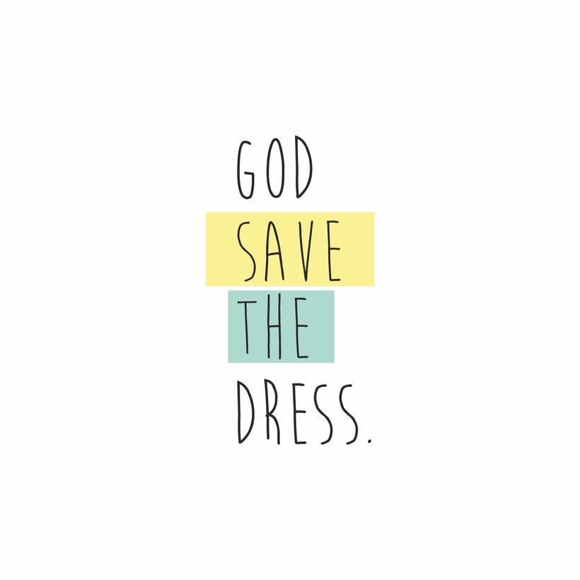 BRANDING | god save the dress 0