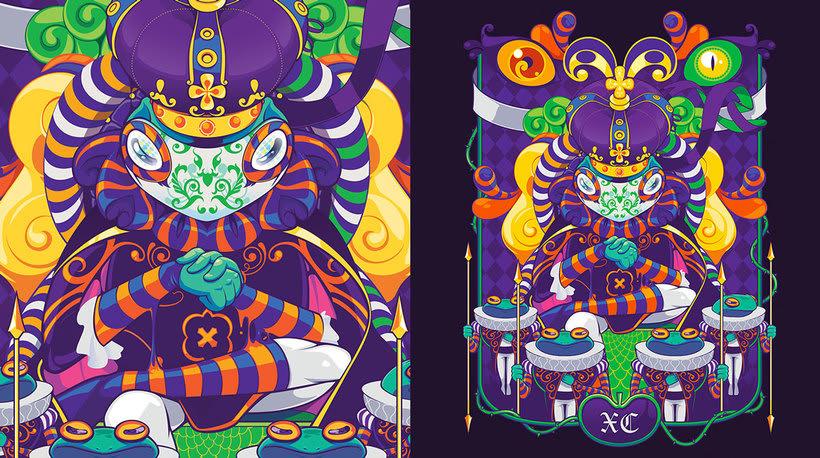 Danilo Laynes: ilustración a todo color made in Perú 4