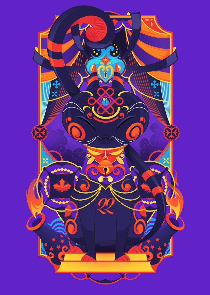 Danilo Laynes: ilustración a todo color made in Perú 5