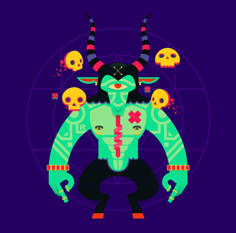 Danilo Laynes: ilustración a todo color made in Perú 12