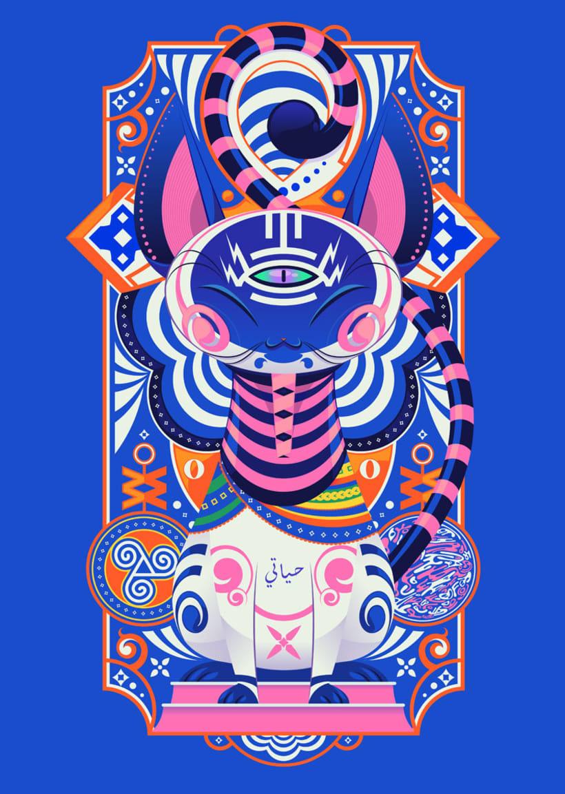 Danilo Laynes: ilustración a todo color made in Perú 8
