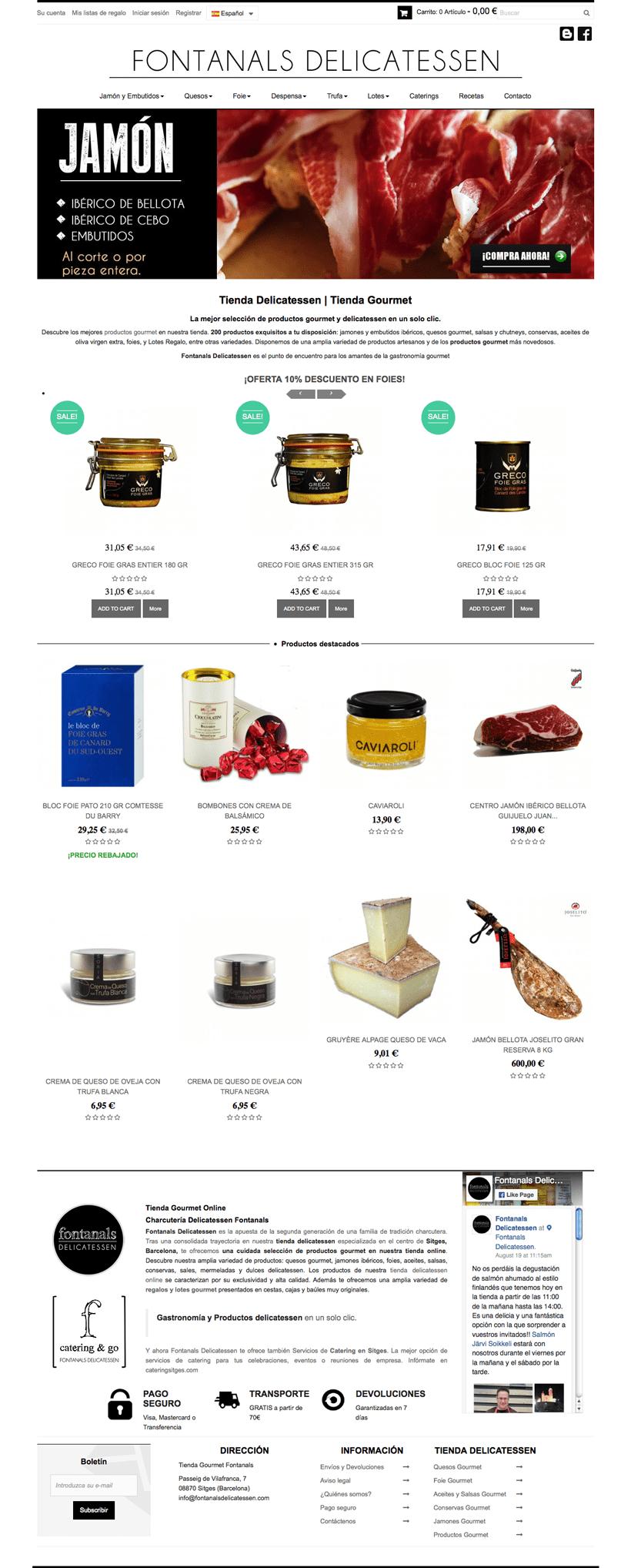 Fontanals Delicatessen | Tienda online 2
