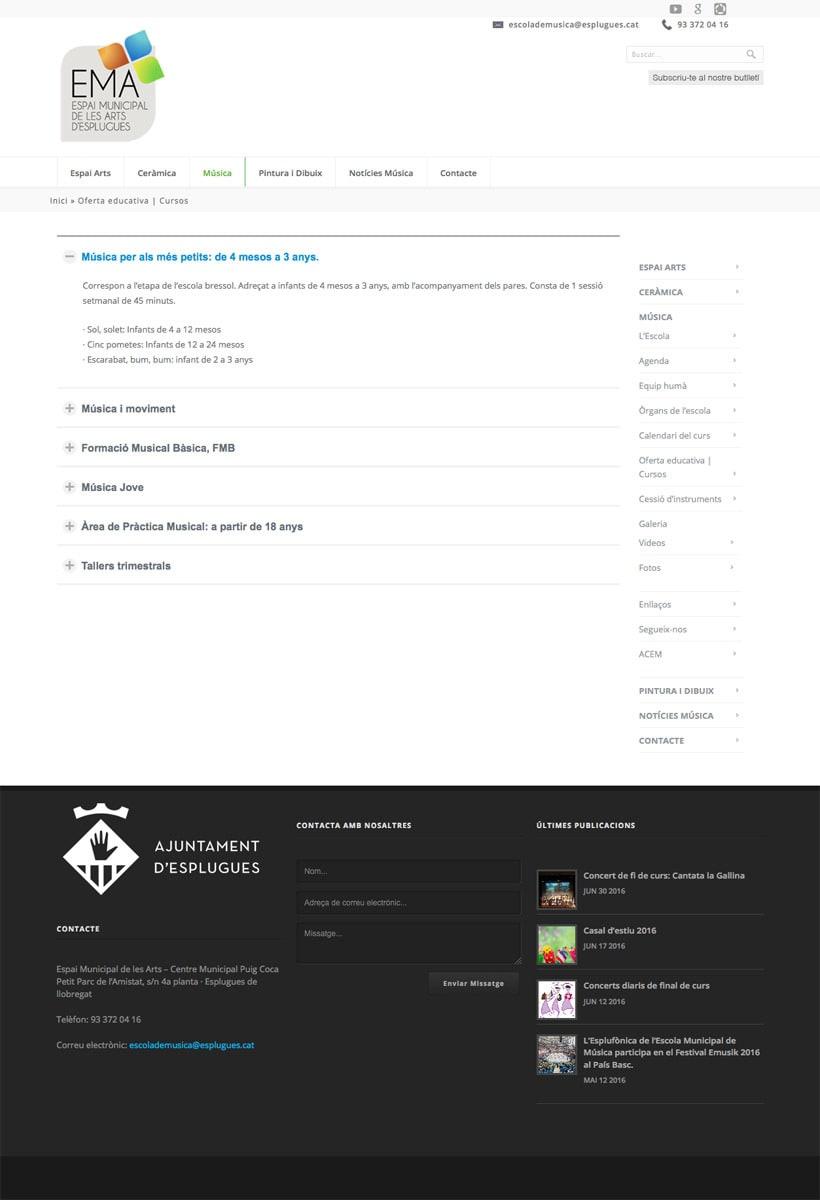 Espai Municipal de les Art d'Esplugues  | Website 7