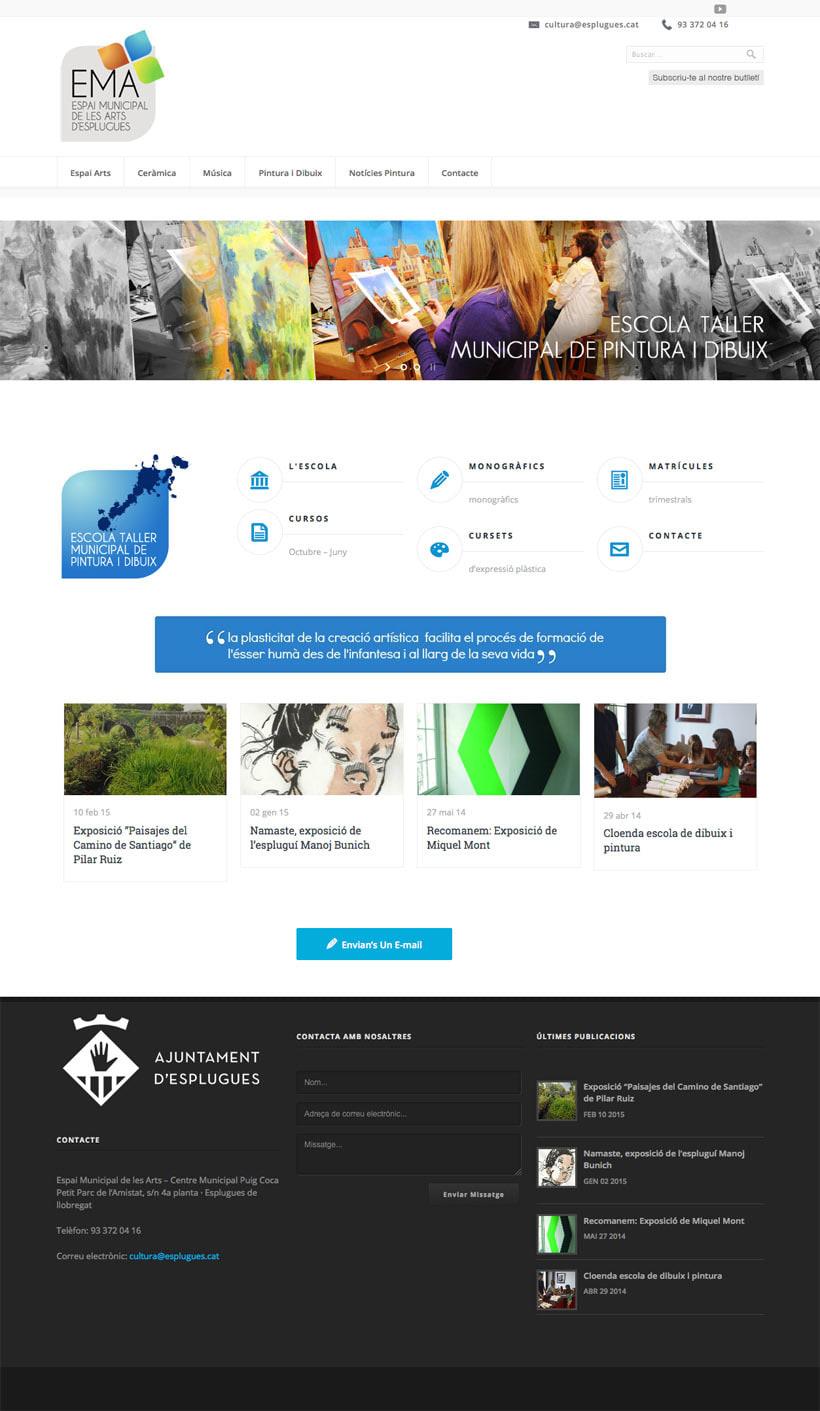 Espai Municipal de les Art d'Esplugues  | Website 9