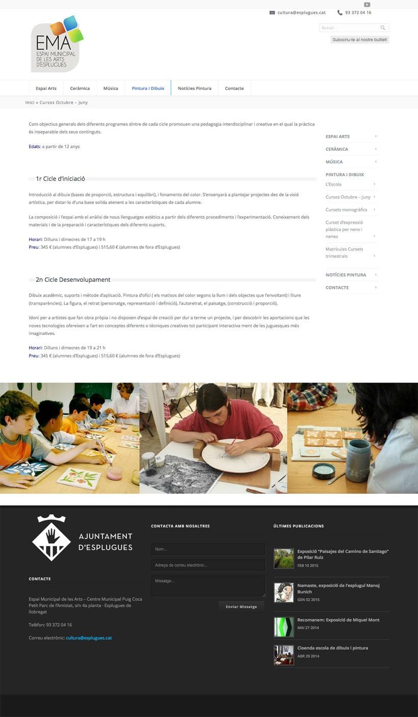 Espai Municipal de les Art d'Esplugues    Website 11