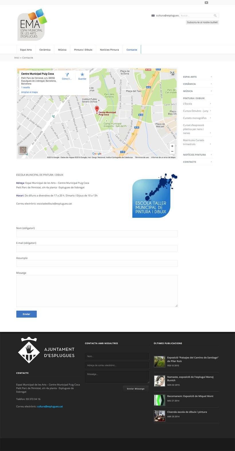 Espai Municipal de les Art d'Esplugues    Website 12