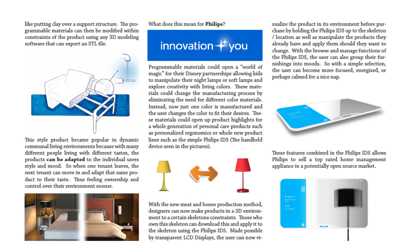 Philips Smart Furniture Concept 1