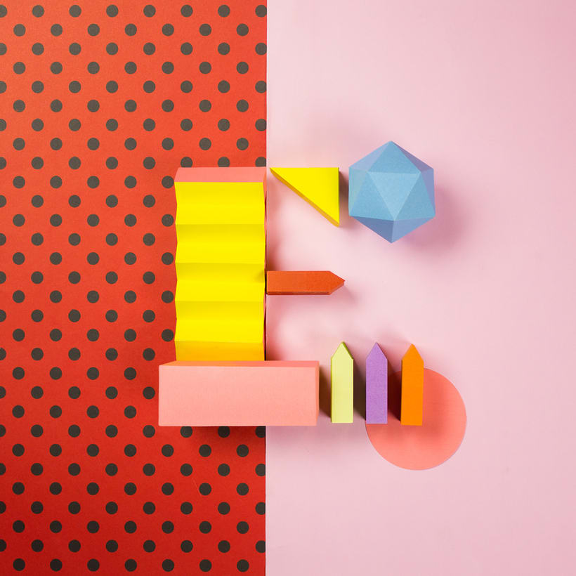 Colorful Paper Craft Alphabet 7