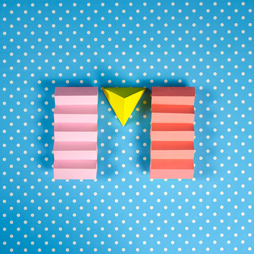 Colorful Paper Craft Alphabet 15