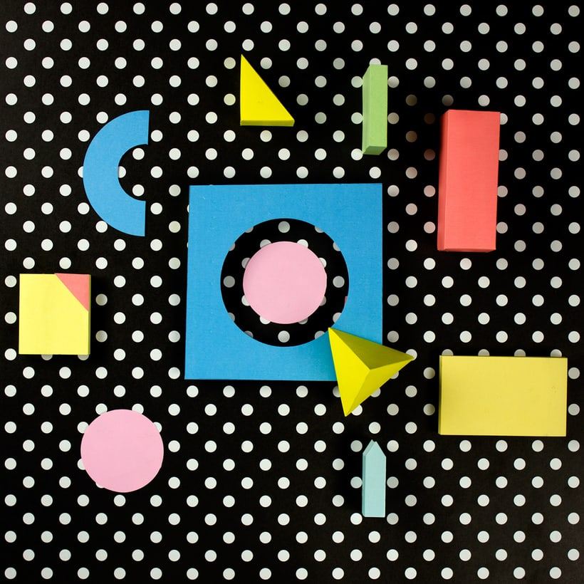 Colorful Paper Craft Alphabet 19